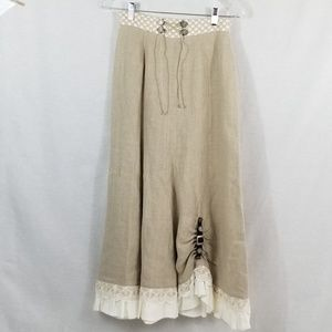 Beautiful Prairie Country Skirt 《Country Line》
